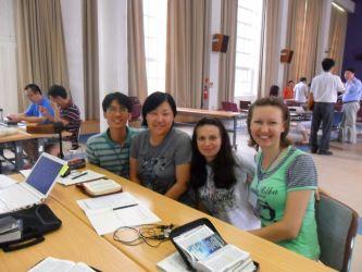 Отчет учасников конференции в Корее 2